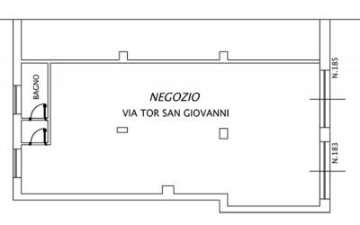 Locale Negozio – Via di San Giovanni