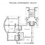 Tipologia appartamento triletto