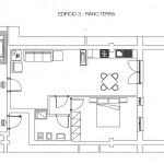 Edificio 3  - piano terra